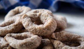 Italian Wine Cookies Ciambelline al Vino