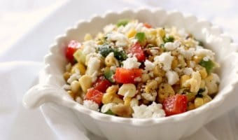 Sweet Corn Salad -unbelievably sweet and tasty!
