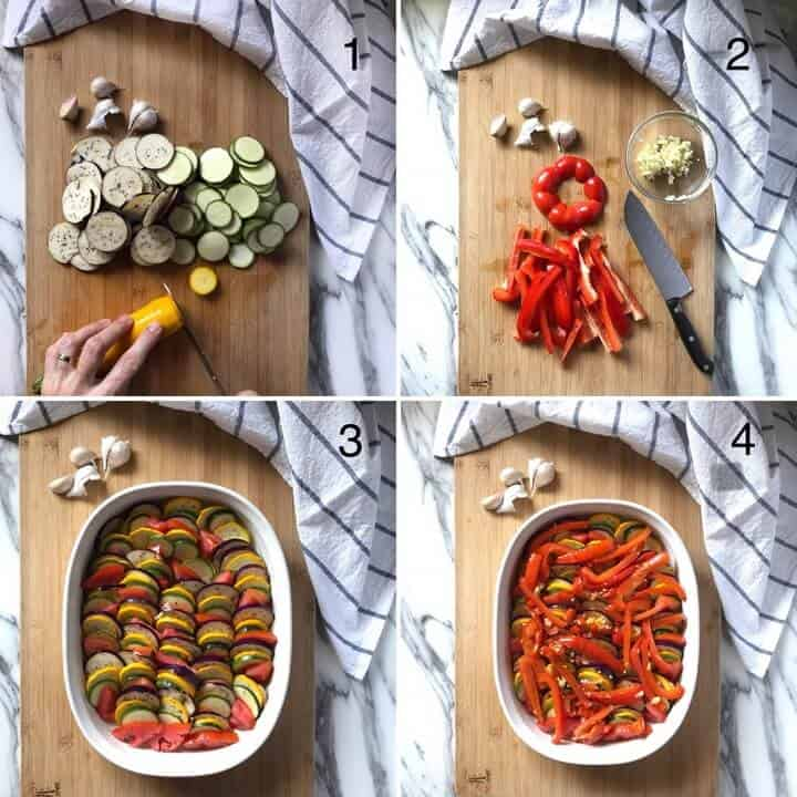 Mediterranean Roasted Vegetables: Italian Style