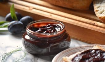 Slow Cooker Plum Butter: With 4 Variations