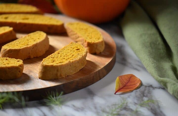 Pumpkin Biscotti: All You Need is a Cup of Coffee!