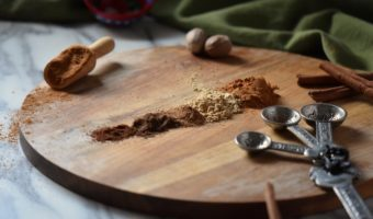 Pumpkin Spice aka Pumpkin Pie Spice is simply made by combining cinnamon, ginger, nutmeg, allspice and cloves. The perfect spice for fall baking!