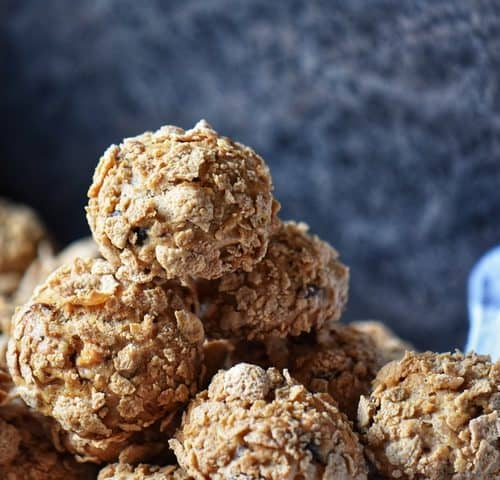 A stack of Oat Bran Cookies.